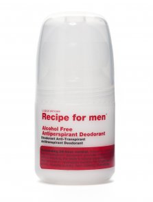 recipe antiperspirant